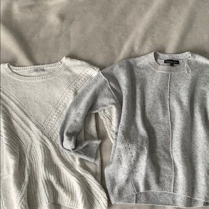 Bundle 2 knit sweaters (guess and top shop)